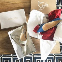 Demain direction #Cannes ! J'ai les chaussures il me manque la robe  #cannesfilmfestival  __ #louboutin #jimmychoo #shoes #iloveshoes #loulouetboutin #festivalessentials #cannesfestival #cannes2016 #ready #yeswecannes