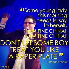 """It's better to wait long than marry wrong!"" Brandon Shanks January 3rd, 2014 Atlanta Youth Convention Atlanta, Georgia"