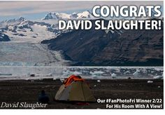 Congrats to David Slaughter, Our #FanPhotoFri Favorite! We Want To Wake Up To That Room With A View Every Morning! #mountaintravelsobek