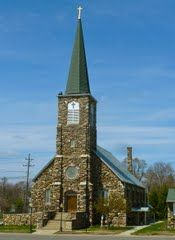 My great grandparents built this Catholic Church in Mendon, Michigan.  It was built with field stones.  All my family is buried there ad most have been married there.