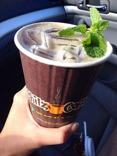Mojito coffee yums!