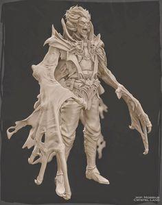 Comicon 2014 Mobius Sculpt - Unfinished, Crystel Land on ArtStation at https://www.artstation.com/artwork/LO45r