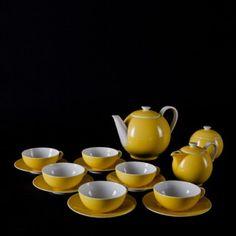 Coffee & Tea Set by Sutnar Ladislav for Krásná Jizba DP, Tea Set, 1930s, Coffee, Tableware, Furniture, Kaffee, Dinnerware, Tablewares, Tea Sets