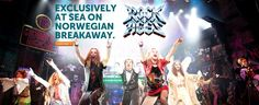 Hit Broadway musical, Rock of Ages, to headline entertainment on Norwegian Breakaway!