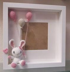 Crochet Wall Art, Crochet Box, Crochet Amigurumi, Crochet Bunny, Crochet Gifts, Crochet Animals, Crochet Dolls, Baby Crafts, Diy And Crafts