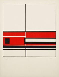 FORMULATE : ARTICULATE - Jean Gorin // c. 1970 // Untitled Screenprint...