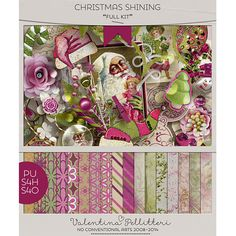 October 27: Daily Deal Christmas Shining by  Valentina's Creation  #thestudio #digitalscrapbooking #dailydeal