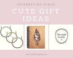 Cute Gift Ideas - The Lady Edition