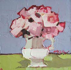 Pink Roses by Mhairi McGregor RSW via Lime Tree Gallery. LOVE!