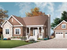 Eplans Country House Plan - A Lot of Living in a Smaller Plan - 1498 Square Feet and 3 Bedrooms from Eplans - House Plan Code HWEPL13195