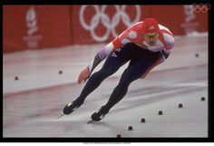 Albertville 1992-JANSEN Daniel (USA) 4th, during the event. At Albertville.