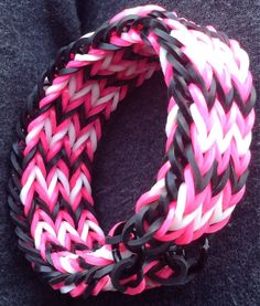 Rainbow Loom Triple Fishtail Bracelet by SmallKidJewleryCraft, $3.99