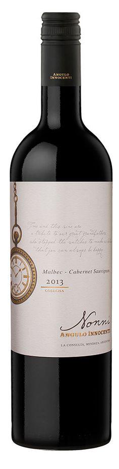 Diseño Etiqueta de Vino / Wine label Design ANGULO INNOCENTI