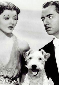 The Thin Man Der dünne Mann Myrna Loy, William Powell & Asta 1934
