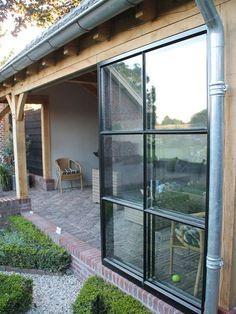 Pergola For Small Patio Patio Roof, Pergola Patio, Diy Patio, Backyard, Outdoor Rooms, Outdoor Gardens, Outdoor Living, Diy Terrasse, Garden Studio
