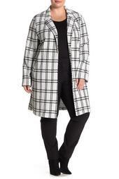 Print Jacket (Plus Size)