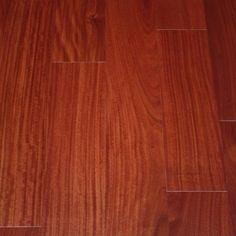 "Santos Mahogany Bellagio 13/32 x 5"" Engineered Hardwood Flooring"