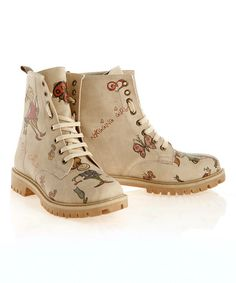 Look what I found on #zulily! Oat Girlhood Combat Boot #zulilyfinds