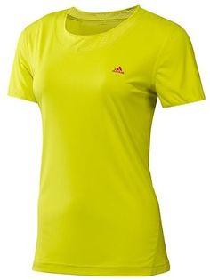 Adidas Women's Climaspeed Short Sleeve Tee Running « Clothing Impulse