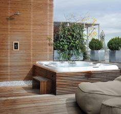 roof terrace hot tube - Google Search