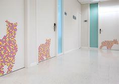 Projecte de Rai Pinto i Dani Rubio a l'Hospital infantil Sant Joan de Déu