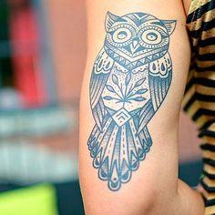Tatuajes de búhos // #tattoo #inspiration #ideas #tatuaje #zodiaco