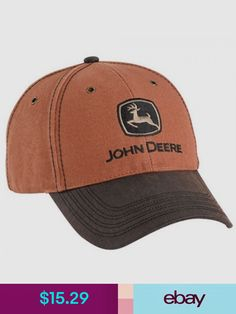 0824ca62 John Deere Hats Collectibles John Deere Hats, Snapback Cap, Mens Caps, Caps  Hats