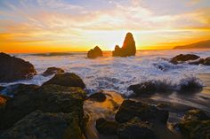 Rodeo Beach sunset in San Francisco. Bachir Badaoui, Your Take