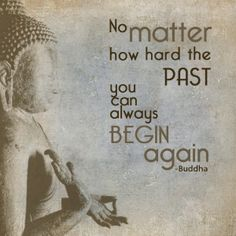 Resolution #6: Leave the Past Behind and Begin Again.