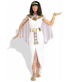 Adult Costumes - This sexy Adult Cleopatra Costume includes the headpiece, collar with attached cape and the white costume dress and belt. The adult Cleopatra costume is available in size Adult Std. Cleopatra wig and sandals sold separately. Great Halloween Costumes, Adult Costumes, Costumes For Women, Costume Ideas, Adult Halloween, Halloween 2016, Halloween Ideas, Cleopatra Dress, Cleopatra Costume