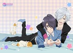 brothers conflict characters | Blanket - BROTHERS CONFLICT / Azusa & Tsubaki (BROTHERS CONFLICT も ...