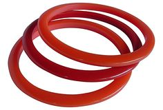 Bakelite Bangles, Set of 3 on OneKingsLane.com