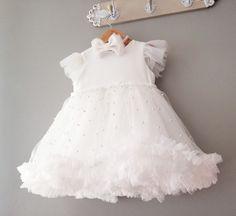 baby dress Girls Dresses, Flower Girl Dresses, Tulle Dress, Baby Dress, Babe, Wedding Dresses, Fashion, Dresses Of Girls, Tulle Gown