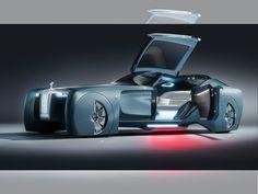 Rolls-Royce Vision Next 100, el auto del futuro