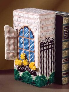Home Sweet Home Doorstops & Bookends Plastic Canvas Pattern