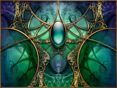 Abstract Fractal by nmsmith on deviantART