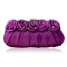 Gorgeous Silk-like Satin Shell Evening Handbags/ Clutches More Colors Available – EUR € 24.49