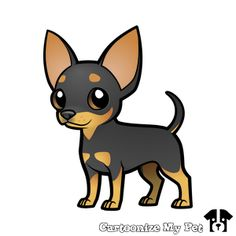 Design your own cartoon pets! Share your creations online or buy them on loads of cool stuff! Chihuahua Drawing, Cute Dog Drawing, Chihuahua Art, Pet Dogs, Dog Cat, Dog Illustration, Gifts For Pet Lovers, Dog Tattoos, Animal Drawings