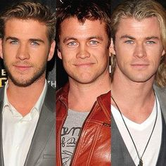 A Third Hemsworth Takes Hollywood! Chris and Liam's Brother Luke Hemsworth to Star in The Reckoning Chris Hemsworth Thor, Snowwhite And The Huntsman, Hemsworth Brothers, Prince Charming, Hollywood Stars, Gorgeous Men, Hello Beautiful, Cute Guys, Actors & Actresses
