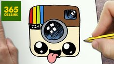 COMMENT DESSINER LOGO INSTAGRAM KAWAII ÉTAPE PAR ÉTAPE – Dessins kawaii ...