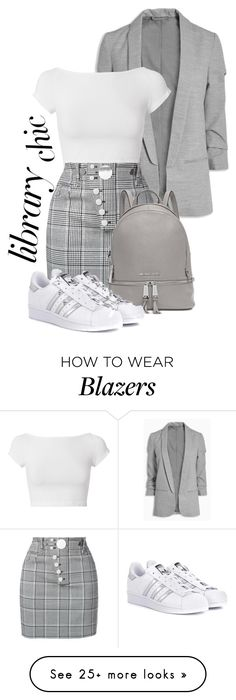 """""""ready to read...?"""" by googdaber on Polyvore featuring Helmut Lang, Alexander Wang, Michael Kors and adidas Originals"""