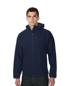 Mens bonded fleece with slash hoody jacket. Tri mountain F7887 #dailywear  #instantfollow   #greatdeals