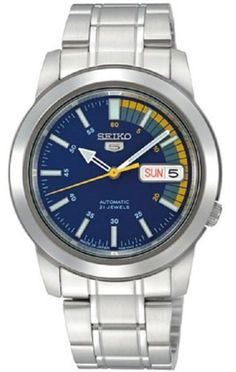 Seiko 5 Automatic SNKK27J1 Blue Dial Stainless Steel Men's Watch