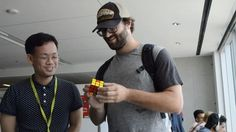 4 minutes: How long it took David to solve this Impressive! Centennial College, Robotics, Puzzles, Students, David, Take That, Education, Learning, Games