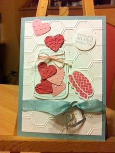 Marions Bastelstübchen: Ich schenke Dir mein Herz