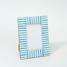 Nantucket Striped Frame