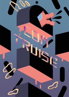 COM TRUISE Poster on Behance