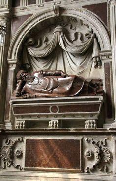 29. Proj. Giovanni Quadro, wyk. Hieronim Canavesi, nagrobek bpa Adama Konarskiego w katedrze w Poznaniu, 1576