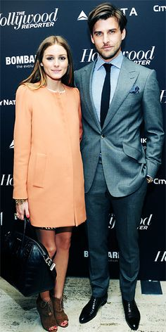 Olivia and Johannes celebrated the most powerful people in media at The Hollywood Reporter's 35 Most Powerful People in Media at the Four Seasons Grill Room in New York City.
