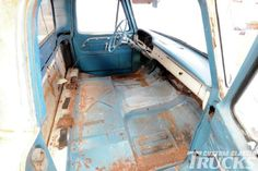 1965 Ford Interior Upgrade - Rags To Riches - Custom Classic Trucks Magazine - Hot Rod Ford Interior, Truck Interior, Lmc Truck, Classic Trucks Magazine, Car Restoration, Custom Trucks, Truck Parts, Hot Rods, The Help
